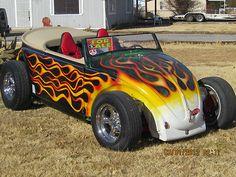 VW FLAMES Volkswagen, Custom Vw Bug, Vw Cabrio, Combi Wv, Vw Rat Rod, Vw Trike, Motorcycle Paint Jobs, Vw Bugs, Kustom Kulture