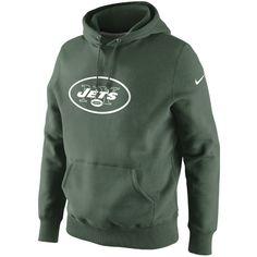 Nike New York Jets Classic Logo Pullover Hoodie Sweatshirt - Green Detroit  Lions Gear 47e417d9d