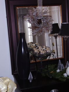 Christmas Decorations, Table Decorations, Chandelier, Ceiling Lights, Mirror, Furniture, Design, Home Decor, Homemade Home Decor