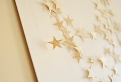 Eco Wedding Paper Garlands,Paper Star Garland,Recycled Paper Wedding Decoration Upcycled Paper Garland from Vintage Book perfect for happy spaces ,eco weddings decoration, wedding backdrop, wedding ga