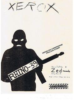 "Rhino 39 ""Zerox"" DANGERHOUSE"