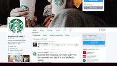 Persona, Starbucks, Twitter