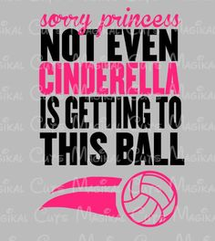 Cinderella Volleyball SVG, Studio, EPS, and JPEG Digital Downloads – Magikal Cuts