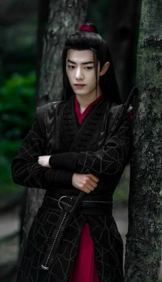 From The Untamed (Chinese Drama) Cosplay Anime, Fantasy Male, Wuxi, Chinese Clothing, Chinese Boy, Chinese Candy, The Grandmaster, Animes Wallpapers, Asian Actors