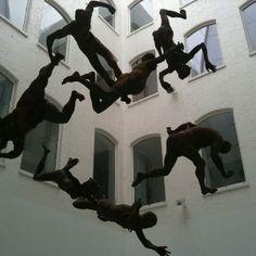 Flying Sculptures, in The Custard Factory, #Birmingham.