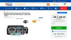 [Mega Mamute] Multifuncional Tanque de Tinta Colorida Wireless EcoTank L455 Epson - Open Box - Bom por R$ 1.199,00