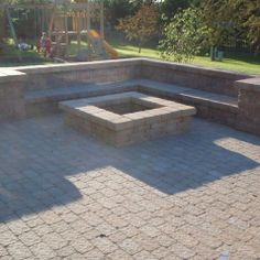Pavestone Paver Fire Pit Design Ideas, Pictures, Remodel, And Decor   Page 3