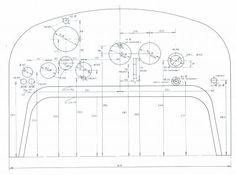 Bugatti Cars, Ferrari, Aztec Tattoo Designs, Plan Drawing, Old Race Cars, Car Drawings, Bike Frame, Technical Drawing, Radio Control