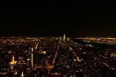 Amazing view from the empire state building!