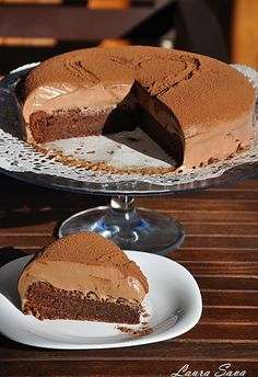 Mousse au chocolat Cake | Recettes Laura Sava