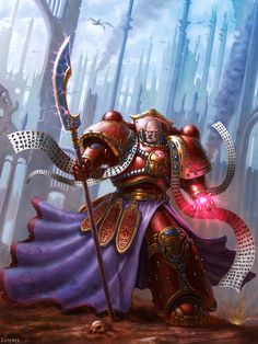 Ahzek Ahriman is a Chaos Space Marine of the Thousand Sons Space Marine Legion and the greatest Sorcerer within their ranks.