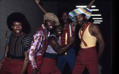 Soul Train: Soul Train dancers in Los Angeles, California, in July 1973. (Photo by Michael Ochs Archives)