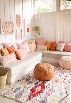 Moroccan rugs and cactus pillows from Canadian online boutique Baba Souk