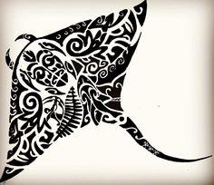 manta ray tattoo with turtle in it Polynesian Tattoos Women, Hawaiian Tribal Tattoos, Polynesian Tattoo Designs, Maori Tattoo Designs, Tiki Tattoo, Tattoo Set, Arm Band Tattoo, Tatau Tattoo, Marquesan Tattoos