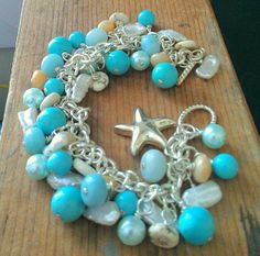 Sand & Sea Bracelet by kitschinart on Etsy, $65.00