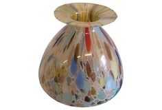 Art Glass Vase from Italy