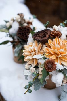 Polar Vortex Wedding  |  The Frosted Petticoat