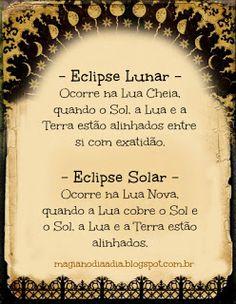 Magia no Dia a Dia: A Força Mágica dos Eclipses http://magianodiaadia.blogspot.com.br/2017/01/a-forca-magica-dos-eclipses.html