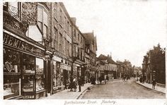 Bartholomew Street - 1903 - looking south from Mansion House Street corner