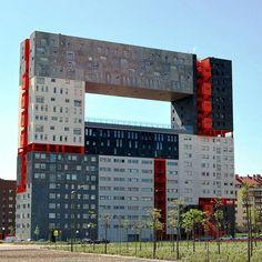 Edificio Mirador Madrid Spain - 50 Strange Buildings of the World (Part II) | Village Of Joy
