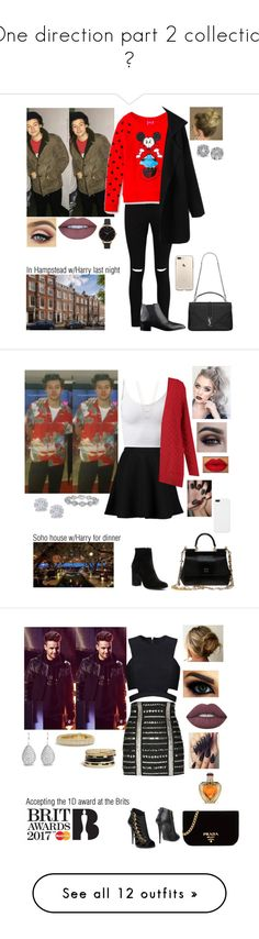 """""""One direction part 2 collection 💗"""" by tiffany-london-1 ❤ liked on Polyvore featuring Boohoo, Effy Jewelry, Yves Saint Laurent, Olivia Burton, Witchery, ERTH, Dolce&Gabbana, Harry Kotlar, Posh Girl and Balmain"""