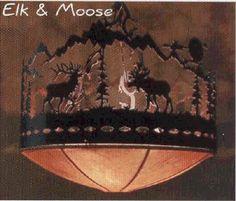 Rustic Cabin Furnishings - http://www.mycabinsite.com/m3/Rustic-Cabin-Lighting-&-Wall-Dec/index.html