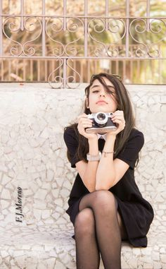 Model : Laura Moreno. Photograph: Fernando Moreno.