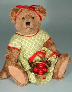 sweet ~  Bears like Apples :-)
