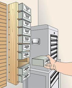 Wilker Do's: DIY Hardware Storage Shelf