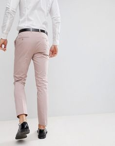 2 de 4 Asos, Costume Slim, Pantalon Costume, Skinny, Khaki Pants, Trousers, Costumes, Wedding, Design