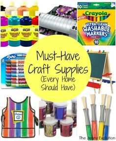 Must Have Craft Supplies Every Home Should Have | The Jenny Evolution