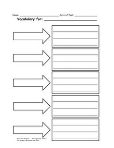 Printables Blank Vocabulary Worksheet generators spelling test and on pinterest blank vocabulary worksheet google search