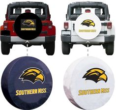 Southern Mississippi Golden Eagles Spare Tire Cover