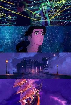 Treasure Planet- this is my favorite Disney movie. I hate how other people don't like it and say the movie is crap. Have you seen the animation? Disney Pixar, Disney Animation, Disney And Dreamworks, Disney Art, Walt Disney, Animation Movies, Disney And More, Disney Love, Disney Magic