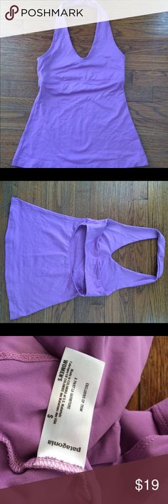 Patagonia workout tank top Size small purple halter Patagonia tank top   Excellent condition. Patagonia Tops Tank Tops