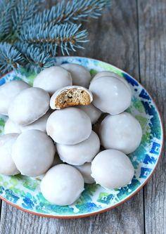 Authentic German Pfeffernüsse (Iced Gingerbread Cookies).  daringgourmet.com