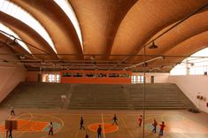 Eladio Dieste - Gimnasio Polideportivo - Durazno, Uruguay - 1974