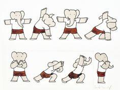 bewegen als een olifant
