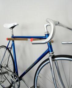 wandregal holzstäbchen fahrrad abstellen