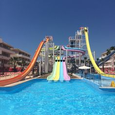 Water Park at the BH Mallorca Hotel #MallorcaOTB