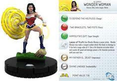 "Wonder Woman #003 Justice League ""New 52"" Singles DC Heroclix - Justice League \'New 52\' - DC Heroclix - HeroClix - Miniatures"