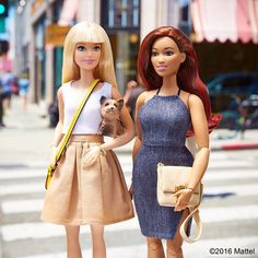 Brunch time! Tag your bestie. #barbie #barbiestyle   New articulated curvy Barbie??