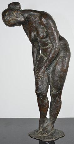 Sculptures, Lion Sculpture, Bronze Sculpture, 19th Century, Statues, Thigh, Sweden, Artist, Naked
