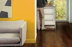 Quick-Step parquet : les 15 plus beaux parquets pour la maison Furniture, House, Home, Tile Floor, Laminate, Tall Cabinet Storage, Laminate Flooring, Flooring, Storage
