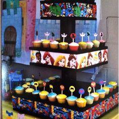 Superhero/Princess Cupcake Stand