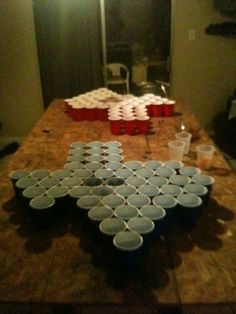 beer pong. texas style.