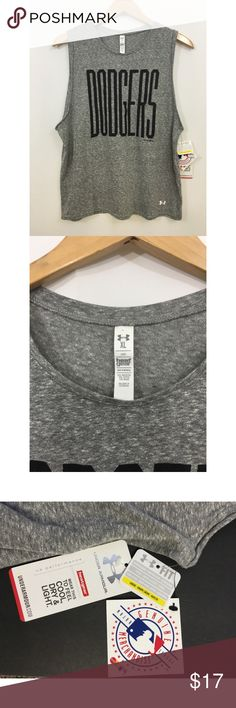 Under Armour MLB Los Angeles Dodgers Muscle Tee NWT, Under Armour MLB Los Angeles Dodgers Muscle Tee Under Armour Tops Muscle Tees