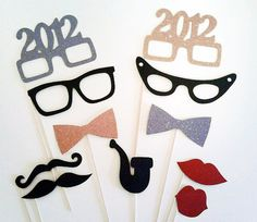 Fun party favors, photo booth props, etc