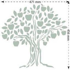1000 images about stencil on pinterest silhouette - Plantillas para pintar paredes para imprimir ...
