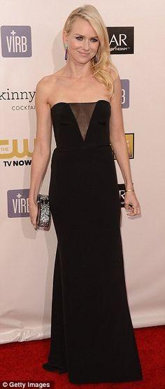 Naomi Watts, Critic's Choice Awards in January 2013